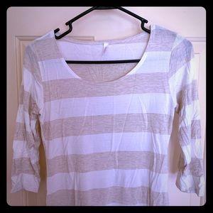 PinkBlush Maternity 3/4 Sleeve Maternity Shirt